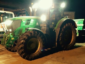 Daily Equipment Rental: John Deere R series with 16t dump trailer