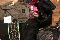 Buy Now: Lot of backpacks, diaper and duffel bags