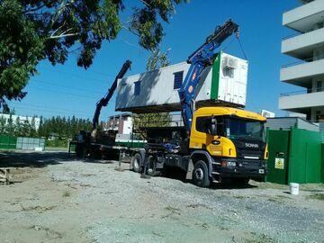 En alquiler: Camion con hidrogrúa 47 tnm con semirremolque