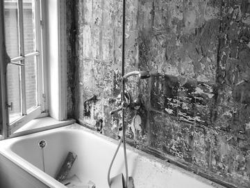 Click foto: Totaalrenovatie van een oude charmante woning in Roeselare