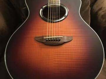 Renting out: Yamaha APX500 Acoustic Electric Guitar