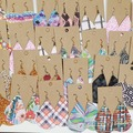 Buy Now: 100 Cork/Faux Leather/Canvas Earrings Lot