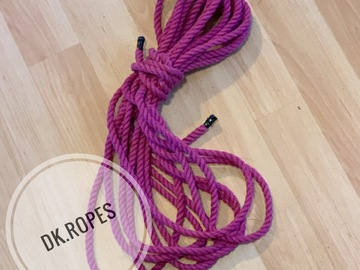 Selling with online payment: WILD ORCHID hand dyed cotton ropes | 25ft