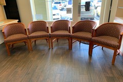 Selling with online payment: Complete Chair Set - 5 barrel, 2 dispensing, and 2 barstools