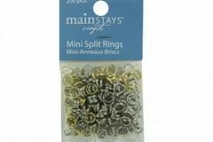 Buy Now: Bulk Lot Mini Split Rings Gold/Silver Assorted Packs