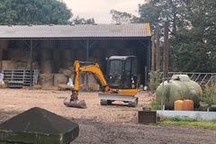 Weekly Equipment Rental: 3 ton JCB mini digger