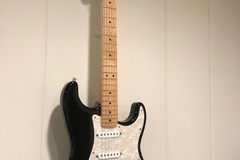 Renting out: Fender Stratocaster (MIM), Fender Amp, Stand, and Strap