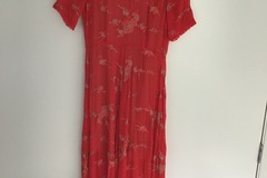 Selling: Kate Sylvester red dress