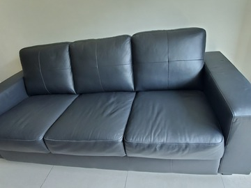 Selling with online payment: IKEA leather sofa