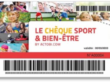 Vente: Chèques Sport & Bien-être Actobi (330€)