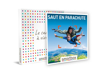 """Vente: e-coffret Smartbox """"Saut en parachute"""" (299,90€)"""