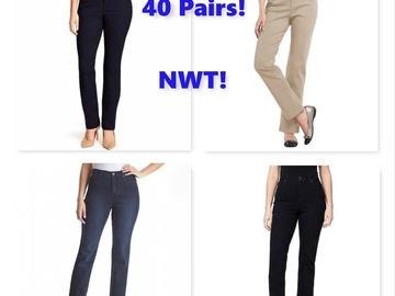 Buy Now: Women's Gloria Vanderbilt Jeans & Pants, NWT, $1,628 MSRP!
