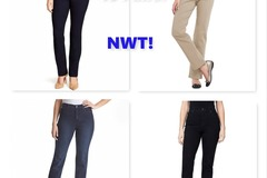Buy Now: Women's Gloria Vanderbilt Jeans & Pants, NWT, $1,628 MSRP!