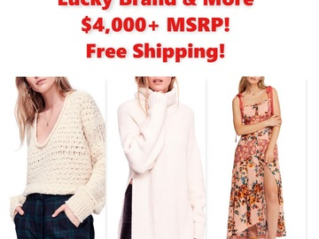 Buy Now: Women's Clothing, Free People, Lucky, Guess & More! Over $4,000