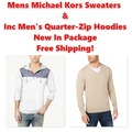 Buy Now: Micheal Kors Sweaters & INC Hoodies, New In Bags, $2,400 MSRP!