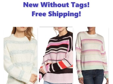 Buy Now: Women's Brand Name Sweaters, NWOT, Free Shipping!