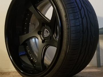 Selling: Infinitewerks RX-5 3 piece wheels