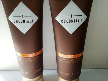 Venta: 2 Cremas de manos Regenerating & Velveting Hand Cream coloniali