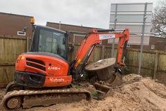 Daily Equipment Rental: 5t excavator