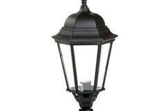 Buy Now: 2 Lights/24 Inch-Black Westar Lighting Outdoor Lantern Post Light