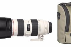 Location: Téléobjectif  Canon EF 70-200mm f/2,8 L USM + Pare soleil +