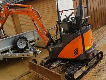 Weekly Equipment Rental: Mini Digger Hire