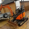 Weekly Equipment Rental: Mini Digger Hire