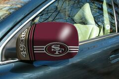Buy Now: 48 sets-NFL San Francisco 49ers Car Mirror Covers (2-Pack)–Large