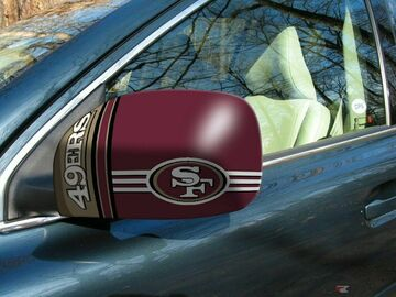 Buy Now: 48 sets-NFL San Francisco 49ers Car Mirror Covers (2-Pack)– Small