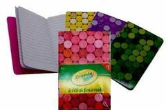 Buy Now: 720 Journals -  Crayola 2-Pack Mini Journals By Hallmark