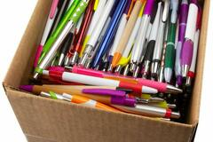 Buy Now: 2000 Pens Of Assorted Quality Blank Plastic Retractable Pens