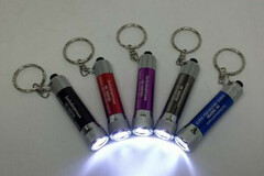 Buy Now: 500 Flashlight-3 Led Misprint Metal Push Button Key Chain