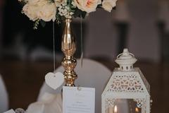 Ilmoitus: Vuokrataan pöytäkoriste (wedding centerpieces) max 10