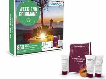 """Vente: Coffret Vivabox """"Week-end gourmand"""" (99,90€)"""