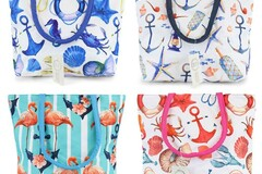 Buy Now: Moda West Lot 24 Small Beach Bag/Totes-NEW