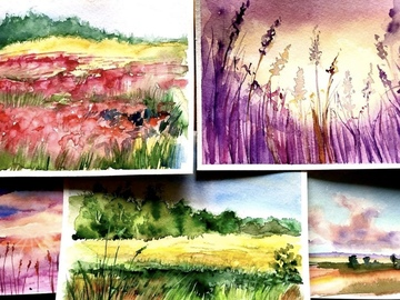 Workshop Angebot (Termine): Aquarell Workshop - Aquarell Grundlagen