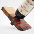 : Mixed Wood x Epoxy Resin Magic Wine Stand