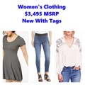 Buy Now: Women's Clothing Lot, NWT, $3,495 MSRP, Free Shipping!