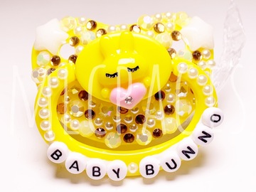 Selling with online payment: Yellow Baby Bunno Adult Pacifier