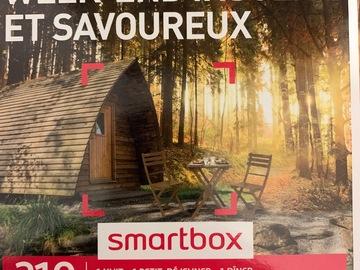 """Vente: Smartbox """"Week-end insolite et savoureux"""" pour 2 (99,90€)"""