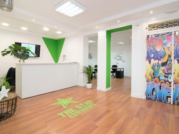 Alquiler con pago online: Coworking - The Star Coworking