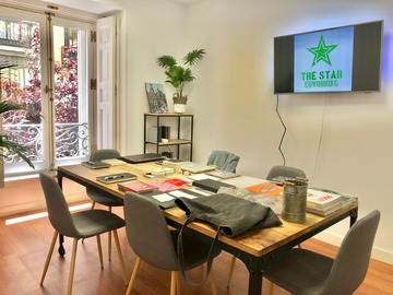 Renting with online payment: Salas de Reuniones - The Star Coworking