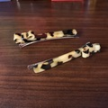 Selling with online payment: MIMCO Milky Tort Hair Clips