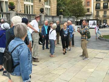 Offering with online payment: San Sebastian walking tour