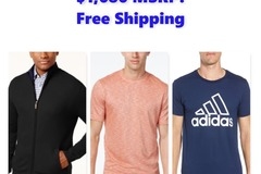 Buy Now: Men's Shirts, Shorts, & Jackets, $1,686 MSRP, Free Shipping!