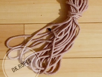 Selling with online payment: LUPINE hand dyed cotton rope | 100fr