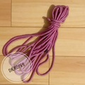 Selling with online payment: LAVENER FOG hand dyed cotton rope | 100ft