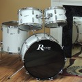 Selling with online payment: Rogers 1972 New England White Drum Set