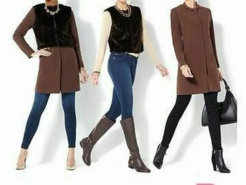 Buy Now: Wholesale Lot of Winter Coats City Coat Style 3 in one Look