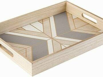 Buy Now: 10 Trays - Refined Wood Serving Tray – Decorative For Home Decor